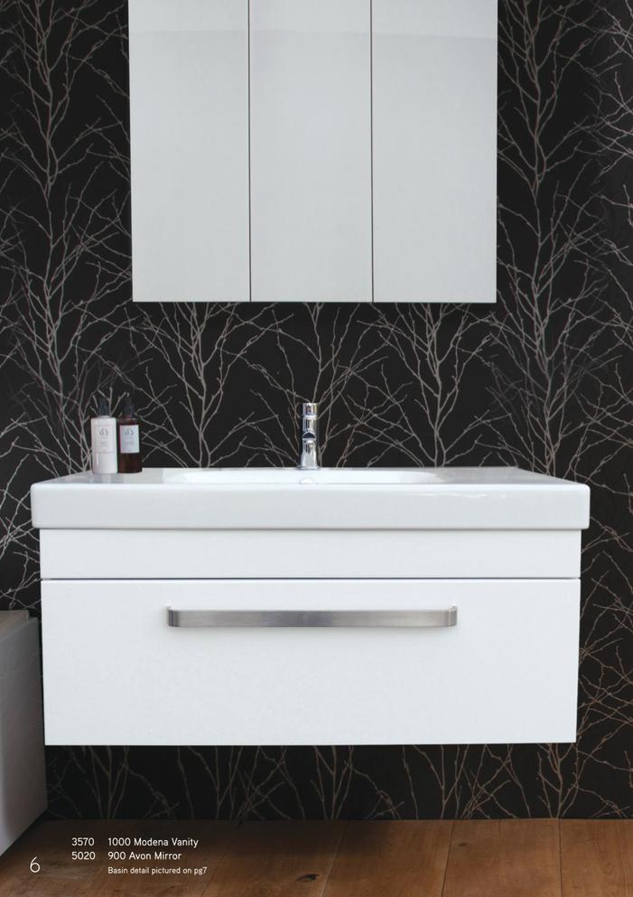 Newtech 1000 Modena Vanity Avon Mirror Vanity Bathroom Design Bathroom Vanity