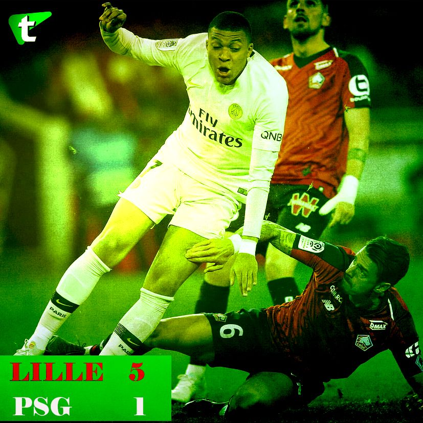 Leaders Psg Postpone Title Celebration After 5 1 Trash Against Lille Psg Pogba Manchester Sports News