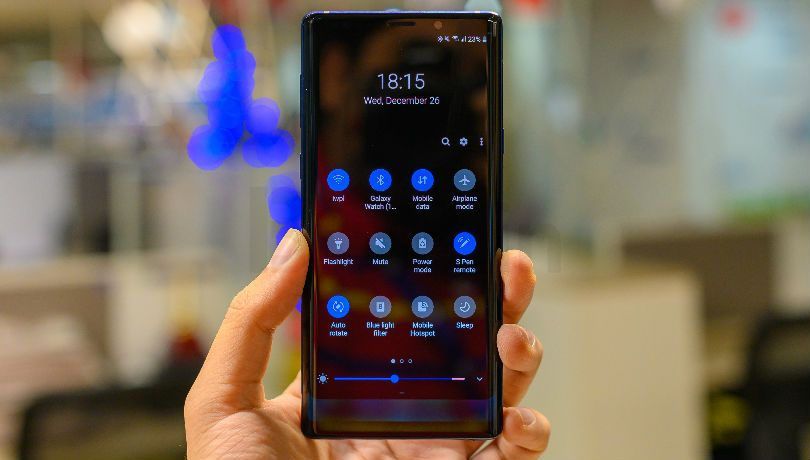 Galaxy Note 9 new update improves security, bugs fix and more