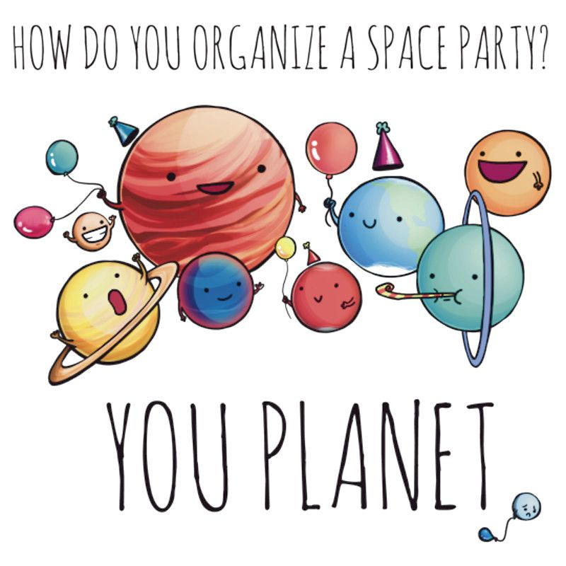 How Do You Organize A Space Party You Planet Don T Groan Create