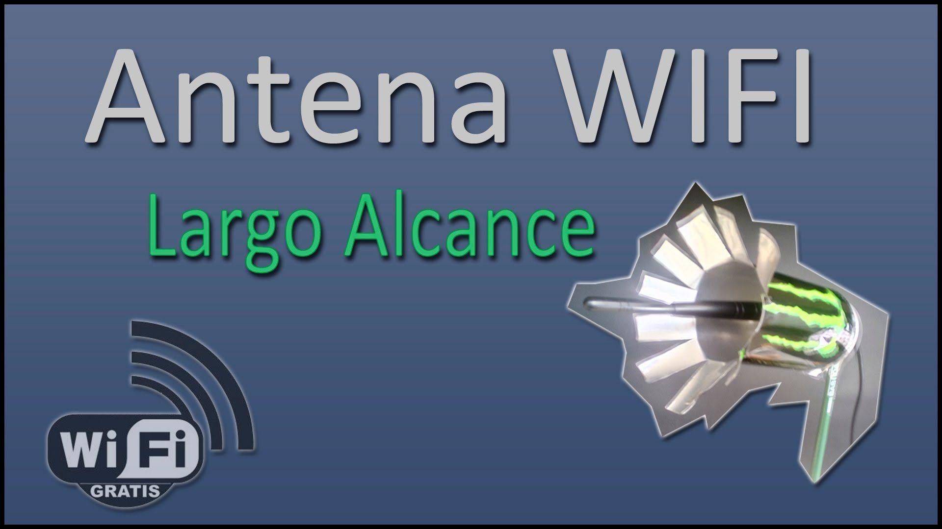 Como Hacer Antena Wifi Casera De Largo Alcance Para Robar Wifi Mas