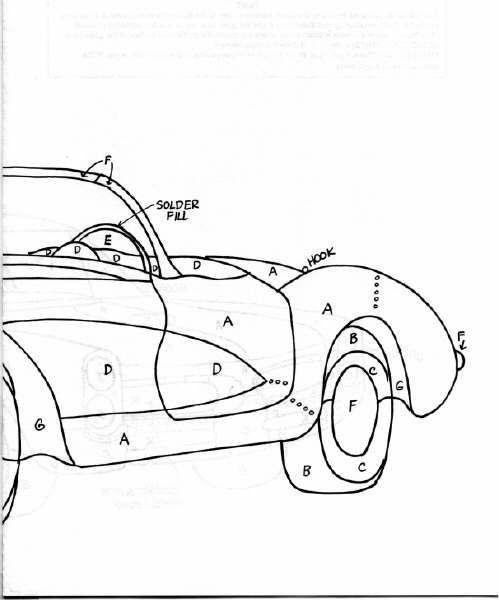 1957 corvette pattern  part 2 of 2