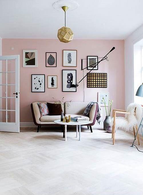 La Decoracion De Interior En Color Rosa Palo Es Tendencia Absoluta Decomanitas Decoracion De Interiores Decoracion De Unas Disenos De Unas
