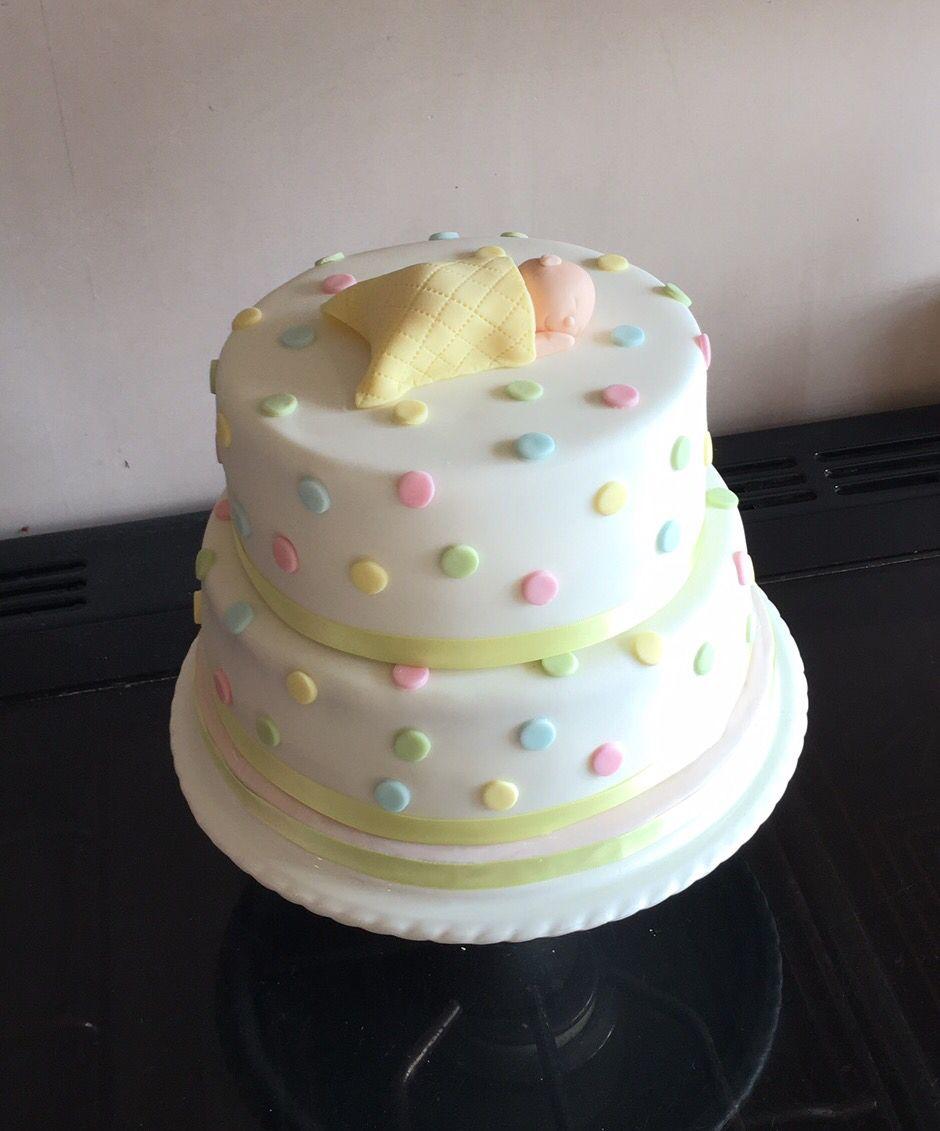 Gender neutral baby shower cake Baby cake, Shower cakes