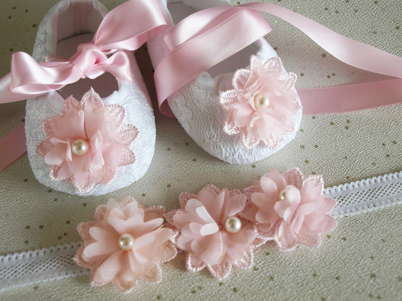 New Baby Girls Christening Shoes in White Pink,Dark Blue 3 6 9 12 15 18 Months