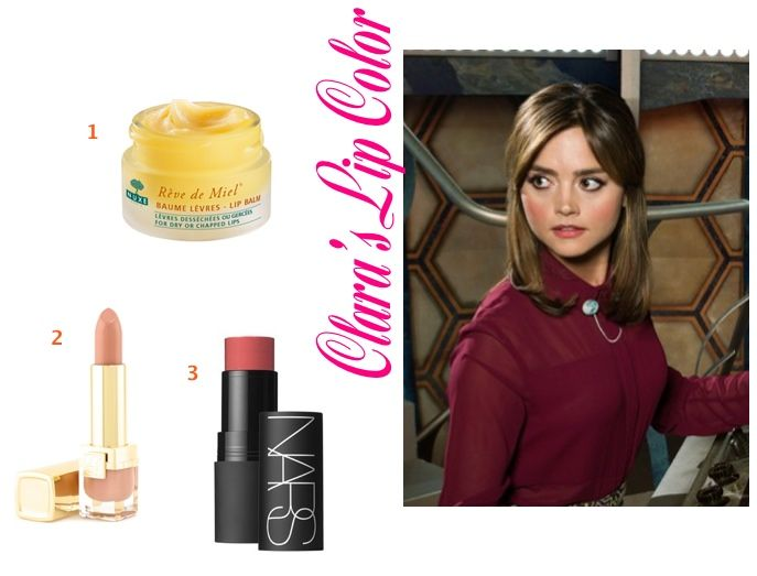 Clara Oswald Doctor Dr Who Jenna Coleman Lip Color