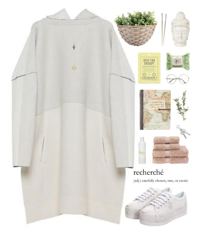 """""""highlight"""" by flying-baby-unicorn ❤ liked on Polyvore featuring CÉLINE, Christy, Jeffrey Campbell, Henri Bendel, ASOS, Love 21, Burt's Bees, Christofle and kitchen"""