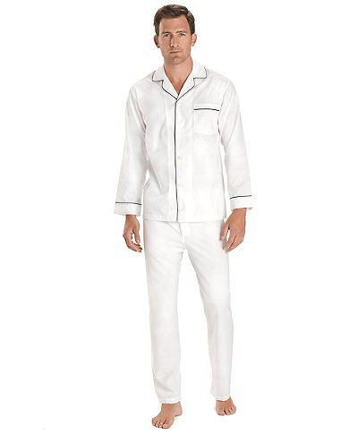 Wrinkle-Resistant Broadcloth Pajamas | Brooks Brothers