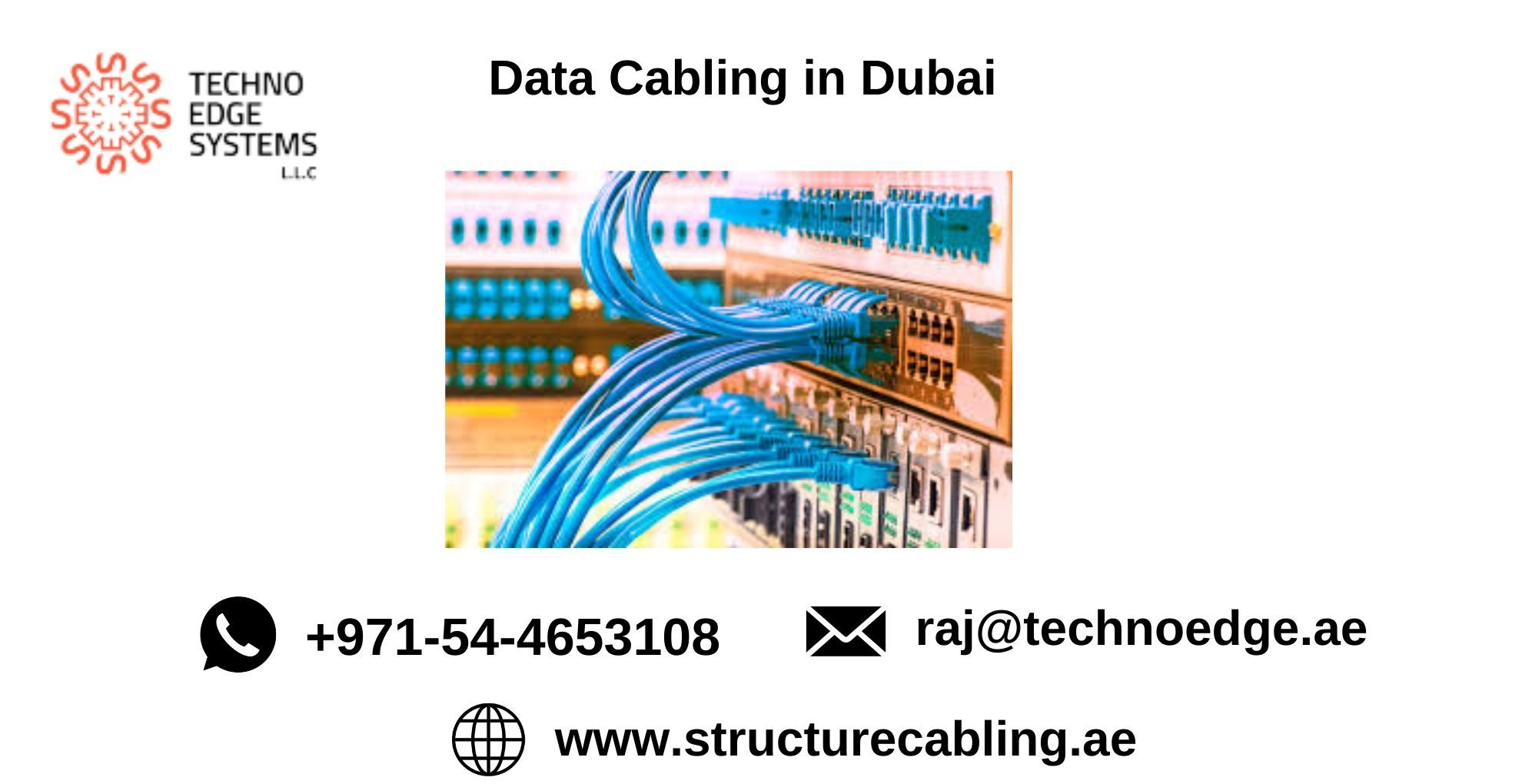 It Cabling In Dubai It Network Cabling In Dubai Techno Edge