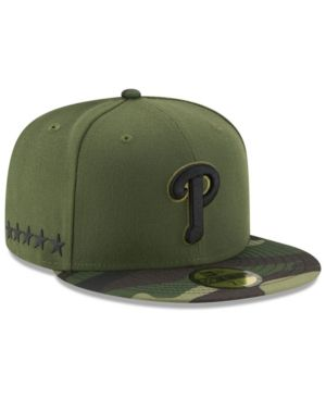 new styles c5734 0f8a7 New Era Boys  Philadelphia Phillies Memorial Day 59FIFTY Cap - Green 6 3 4