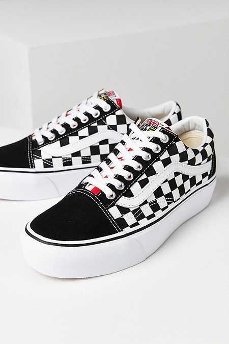 e6030d5ef86 Vans Cherry Checkerboard Old Skool Sneaker
