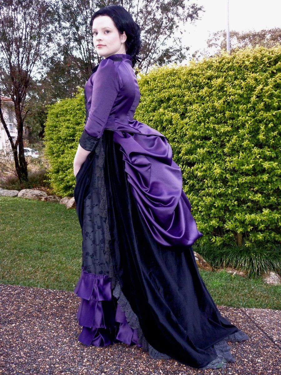 1885 Victorian Bustle Dress by Lady-Disenchanted.deviantart.com on   deviantART de78a097c551