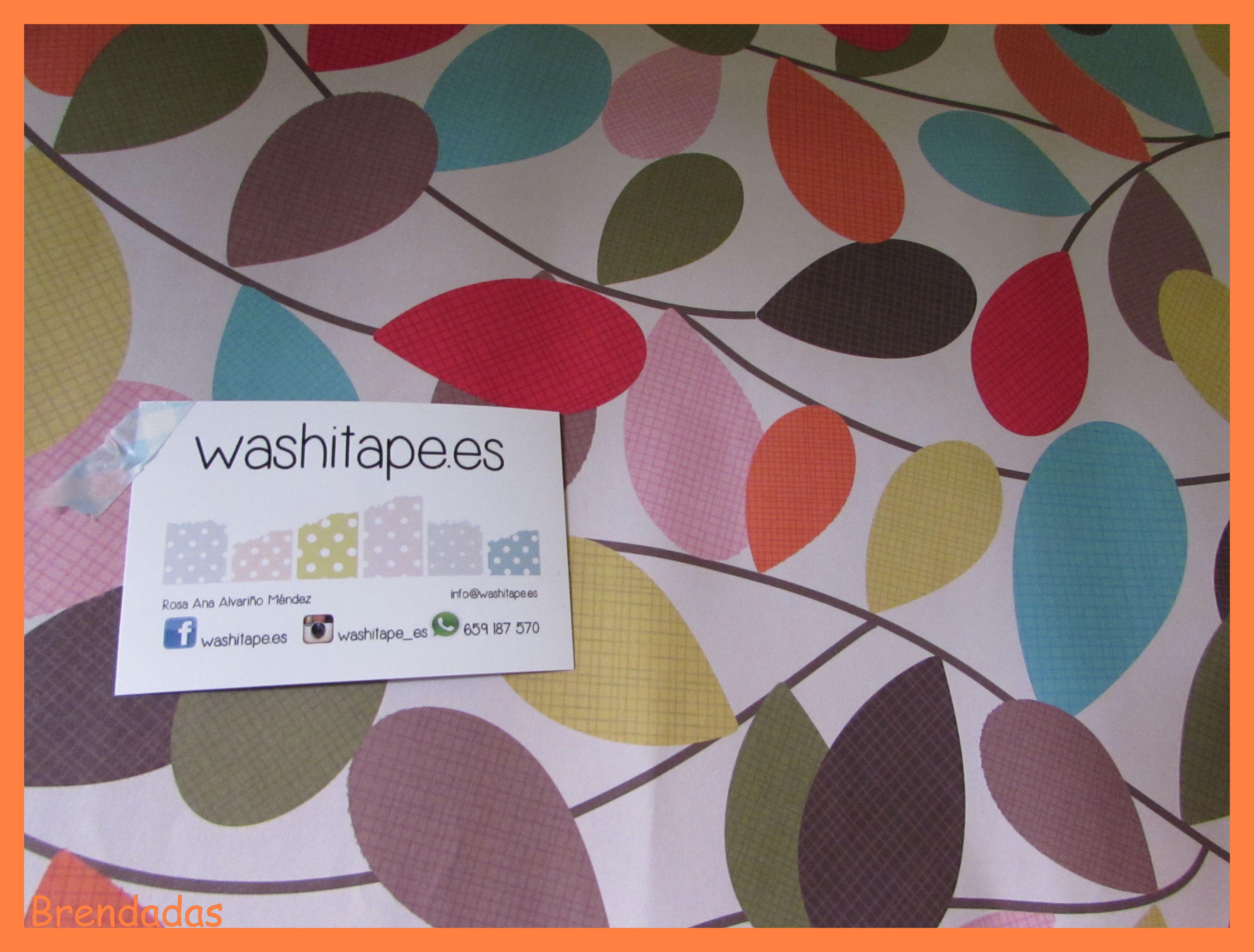 Papel de regalo #manualidades washitape.es
