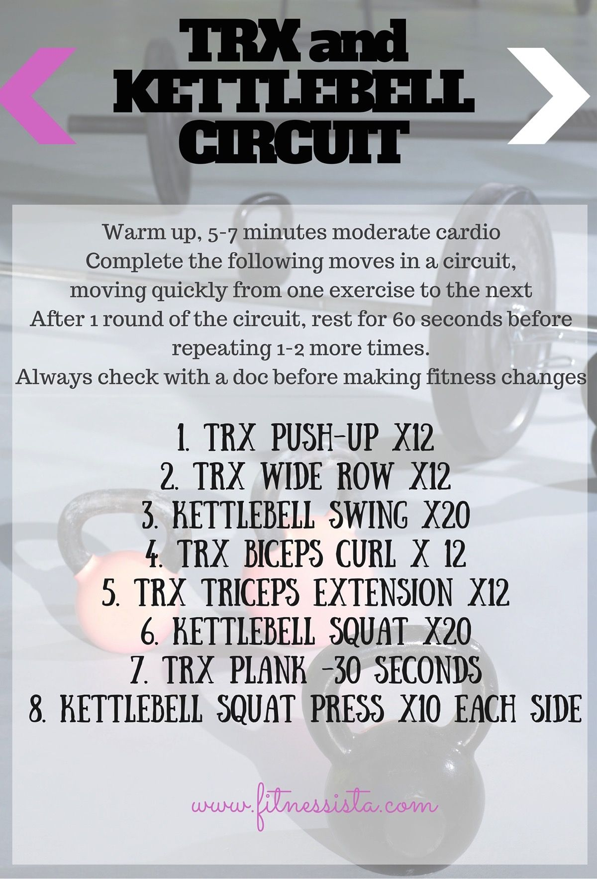 Its A Zoo Trx Kettlebell Circuit Workouts Routines Completecircuit1jpg And