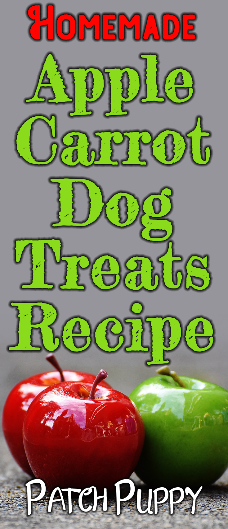 Easy Apple Carrot Dog Treats To Make Your Pup Drool