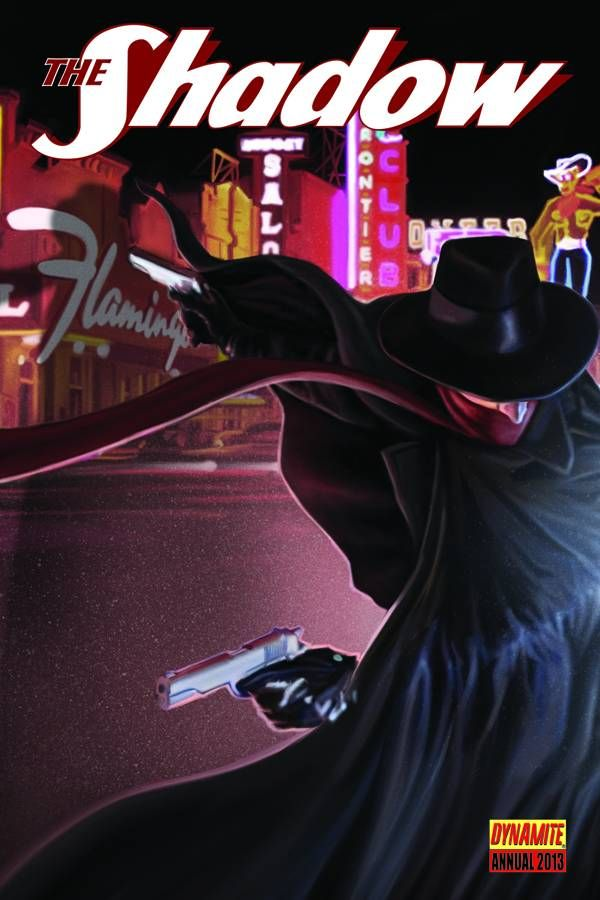 The Shadow Annual 2013 #Dynamite #TheShadow (Cover Artist: Colton Worley) On Sale: 9/18/2013
