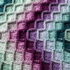Crochet By Beth: My No-Holes Granny Square - Free Crochet Pattern