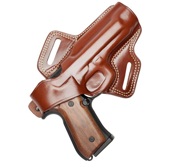 """Breaking in a new leather concealed carry holster using a method called """"Blocking."""""""