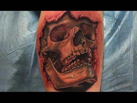 3d Skull Tattoo Designs Best 3d Tattoos Awesome Tattoos Amazing Tattoo Ideas Best 3d Tattoos Skull Tattoo Design 3d Tattoo