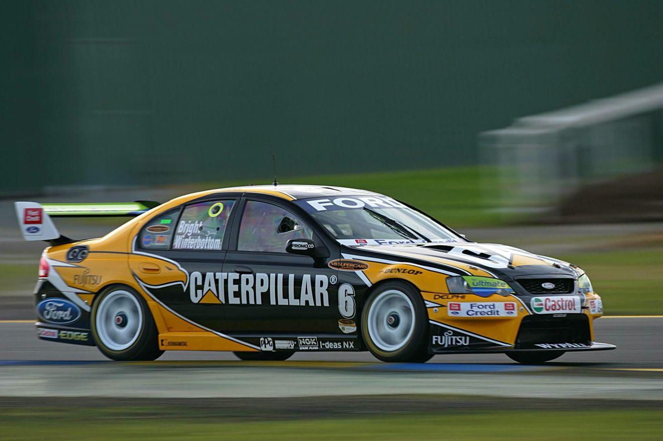 Fpr Jason Bright Mark Winterbottom 2006 Sandown 500 Winners Australian V8 Supercars Super Cars V8 Supercars