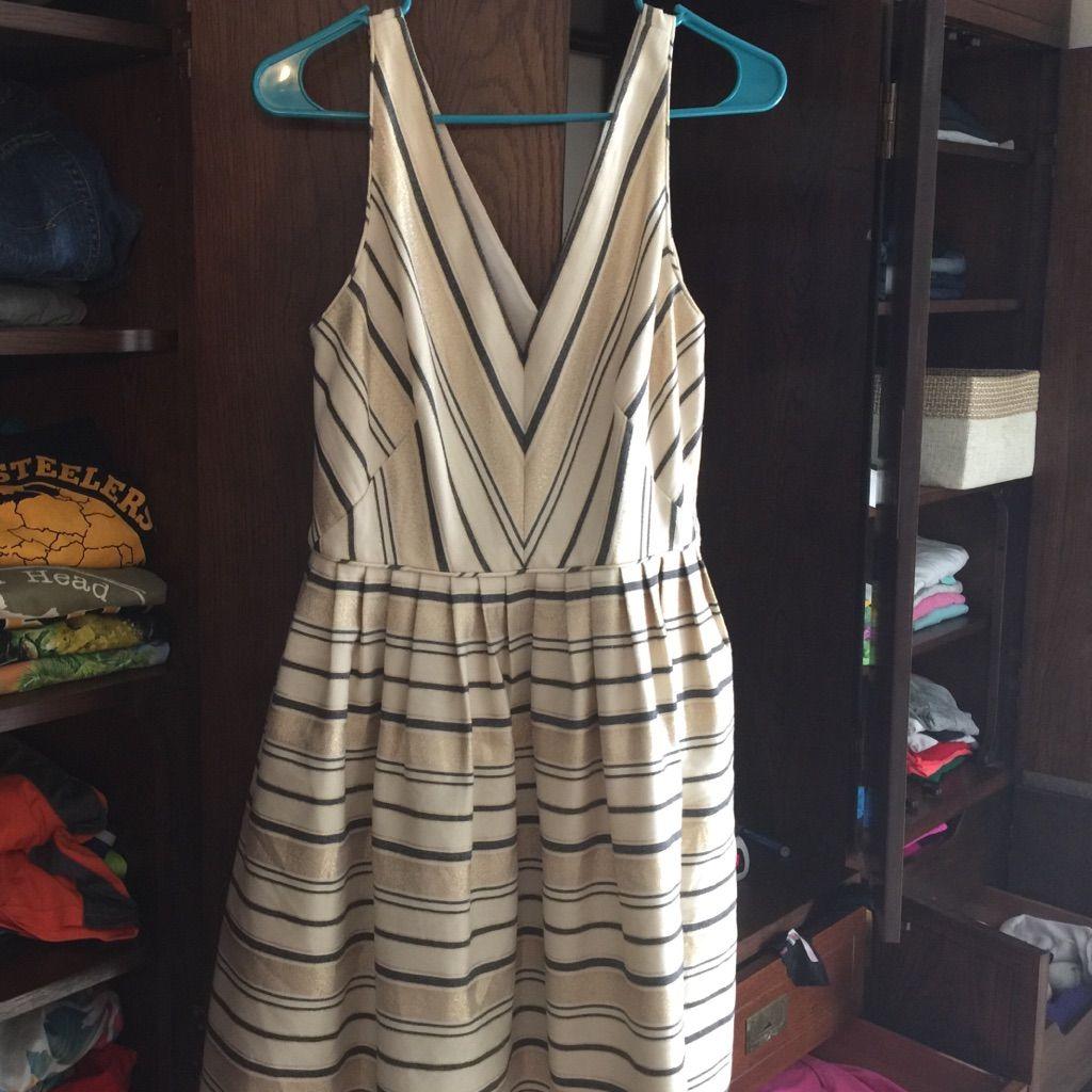 J crew creamgoldblack dress products