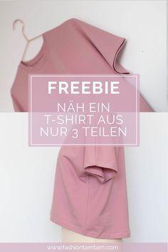 Coudre un T-shirt simple – patrons de couture gratuits   – Freebooks