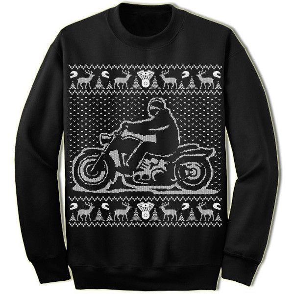 motorcycle ugly christmas sweater bike sweatshirt ugliest christmas sweaters unisex and products