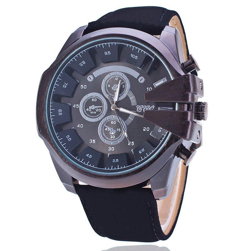 Encontrar Más Relojes casuales Información acerca de Nueva moda Casual cuero del cuarzo militar deportes hombres reloj regalo BW1868, alta calidad reloj animal, China correa de reloj Proveedores, barato relojes mo de Q-Star Fashion Store (min order 1pc) en Aliexpress.com