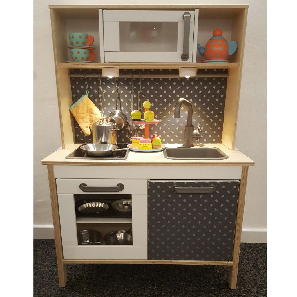 Marvelous 15 Incredible Pint Size Hacks Of IKEAu0027s Popular Play Kitchen | Mini  Kitchen, White Tiles And Kitchens
