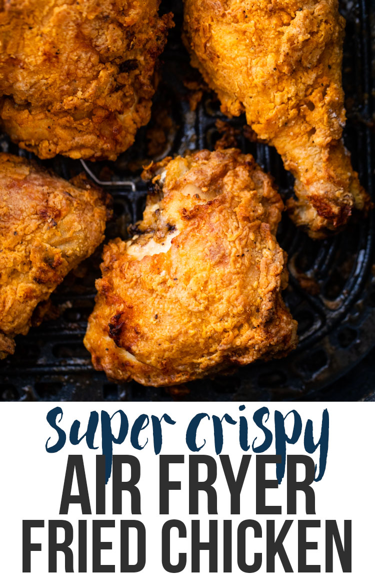 Air Fryer Fried Chicken Gimme Delicious Air Fryer Recipes Healthy Air Fryer Dinner Recipes Air Fryer Fried Chicken