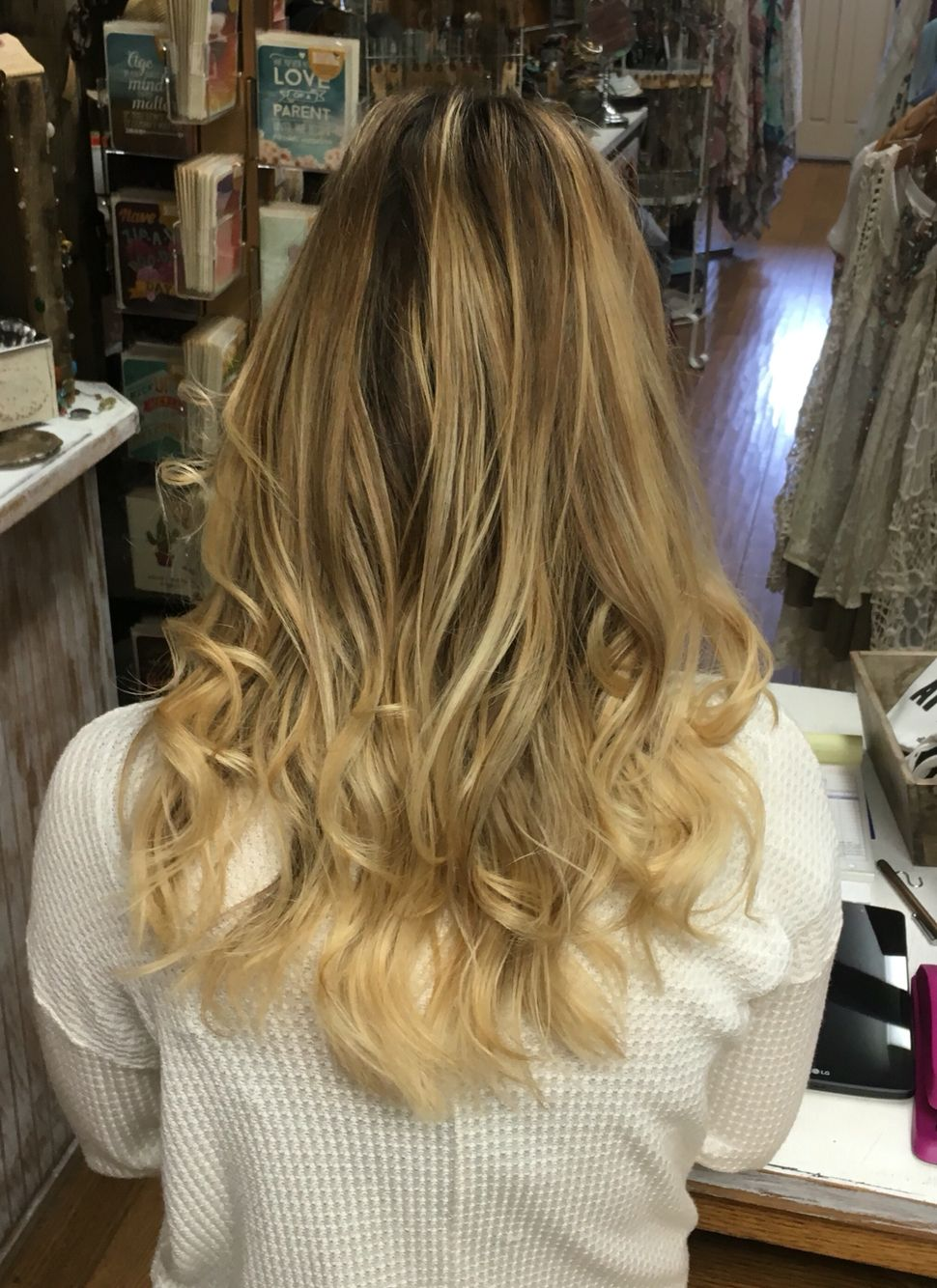 Blonde highlights hair pinterest blondes