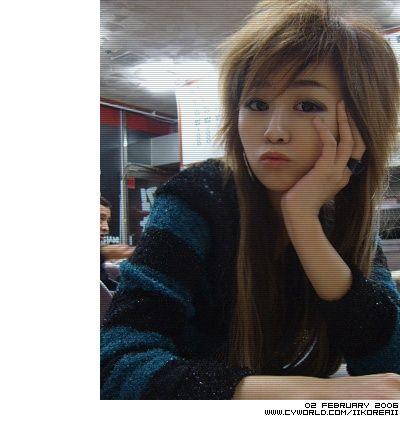 Asian scene hairstyle