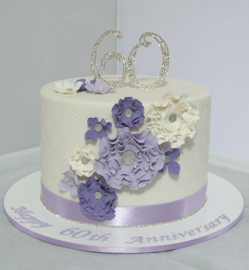 60th Wedding Anniversary Ideas: 60th Wedding Anniversary Cake
