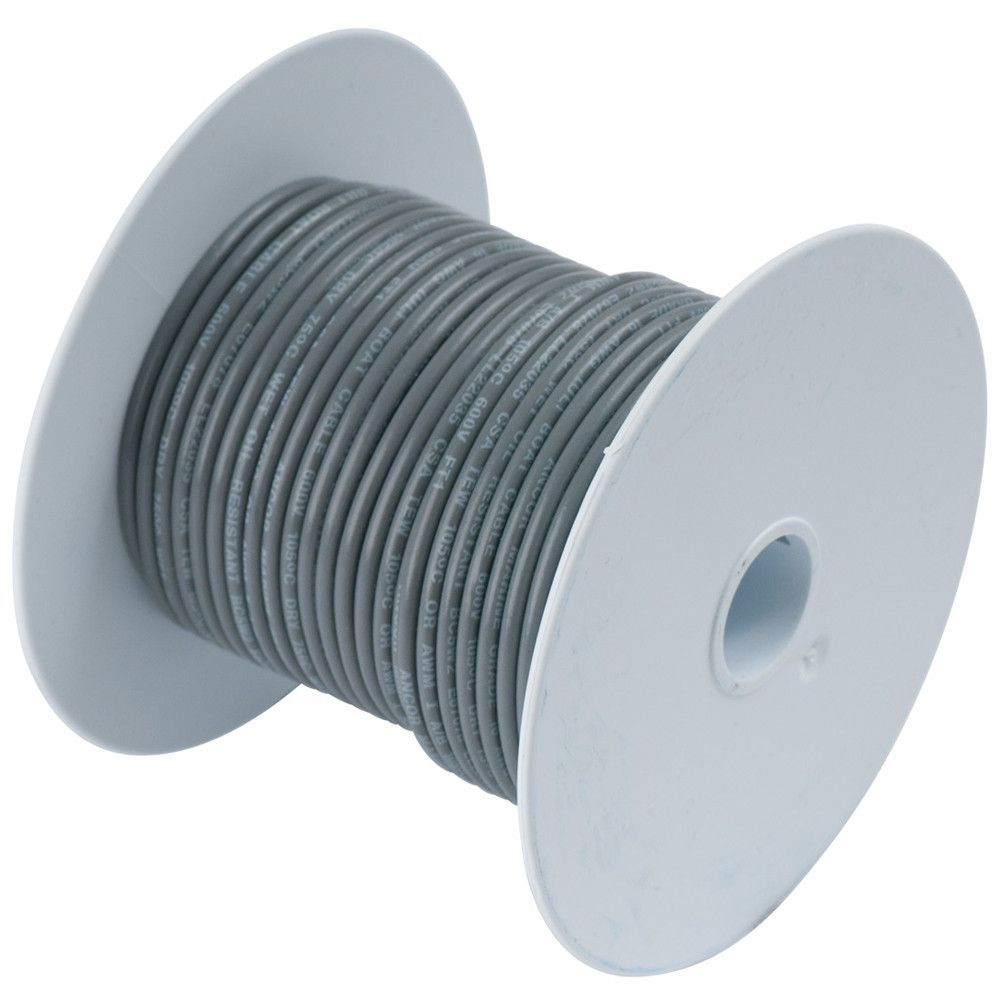 Ancor Grey 18 Awg Tinned Copper Wire 35 Products Pinterest Uk Wiring Colours
