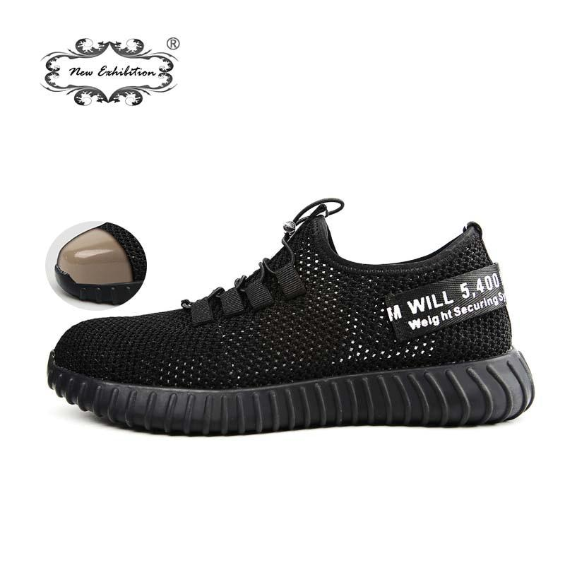Back To Search Resultsshoes Men's Shoes Summer Mens Working Safety Shoes Breathable Footwear Lightweight Indestructible Shoes Steel Toe Shoe For Men Woman Sneakers