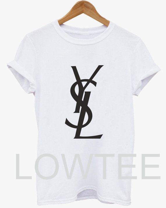 Hey, I found this really awesome Etsy listing at https://www.etsy.com/listing/196499793/ysl-tshirt-top-tshirt-unisex-fashion-tee