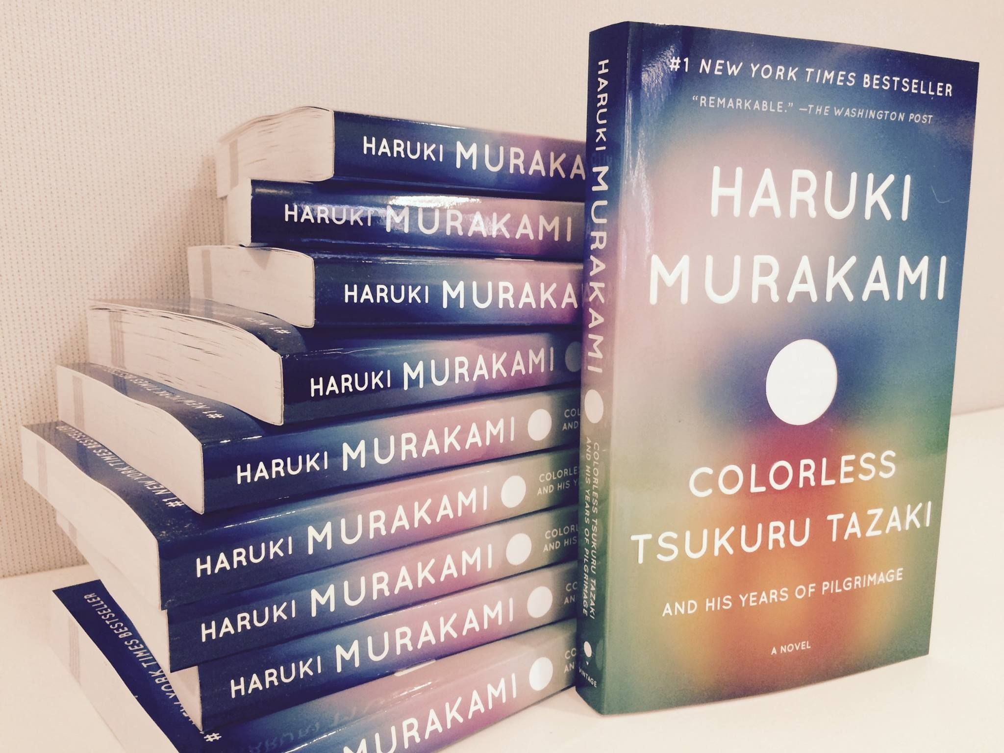Colorless Tsukuru Tazaki And His Years Of Pilgrimage Available