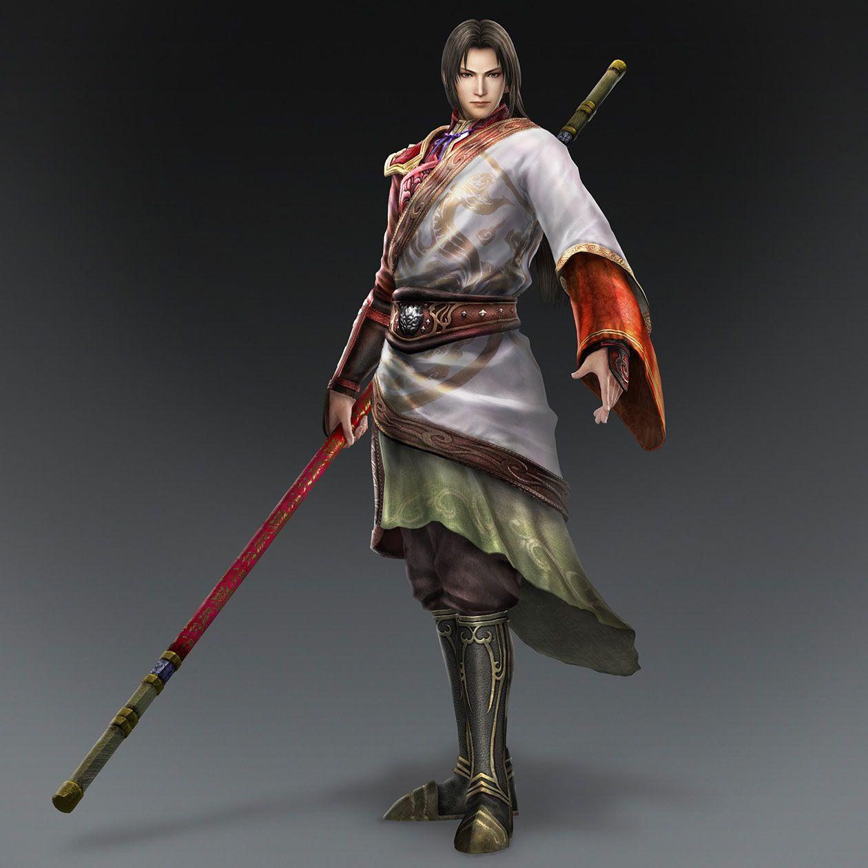Zhou Yu & Weapon (Wu Forces) | Dynasty Warriors 8 (Characters ... Zhou Yu Dynasty Warriors 8