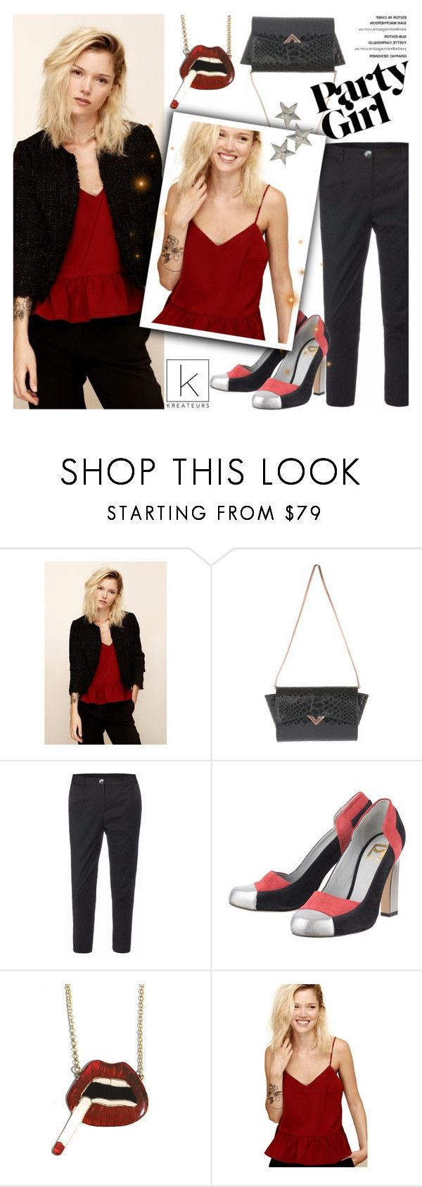 """""""Party girl!"""" by kreateurs ❤ liked on Polyvore featuring Devastee and kreauters"""