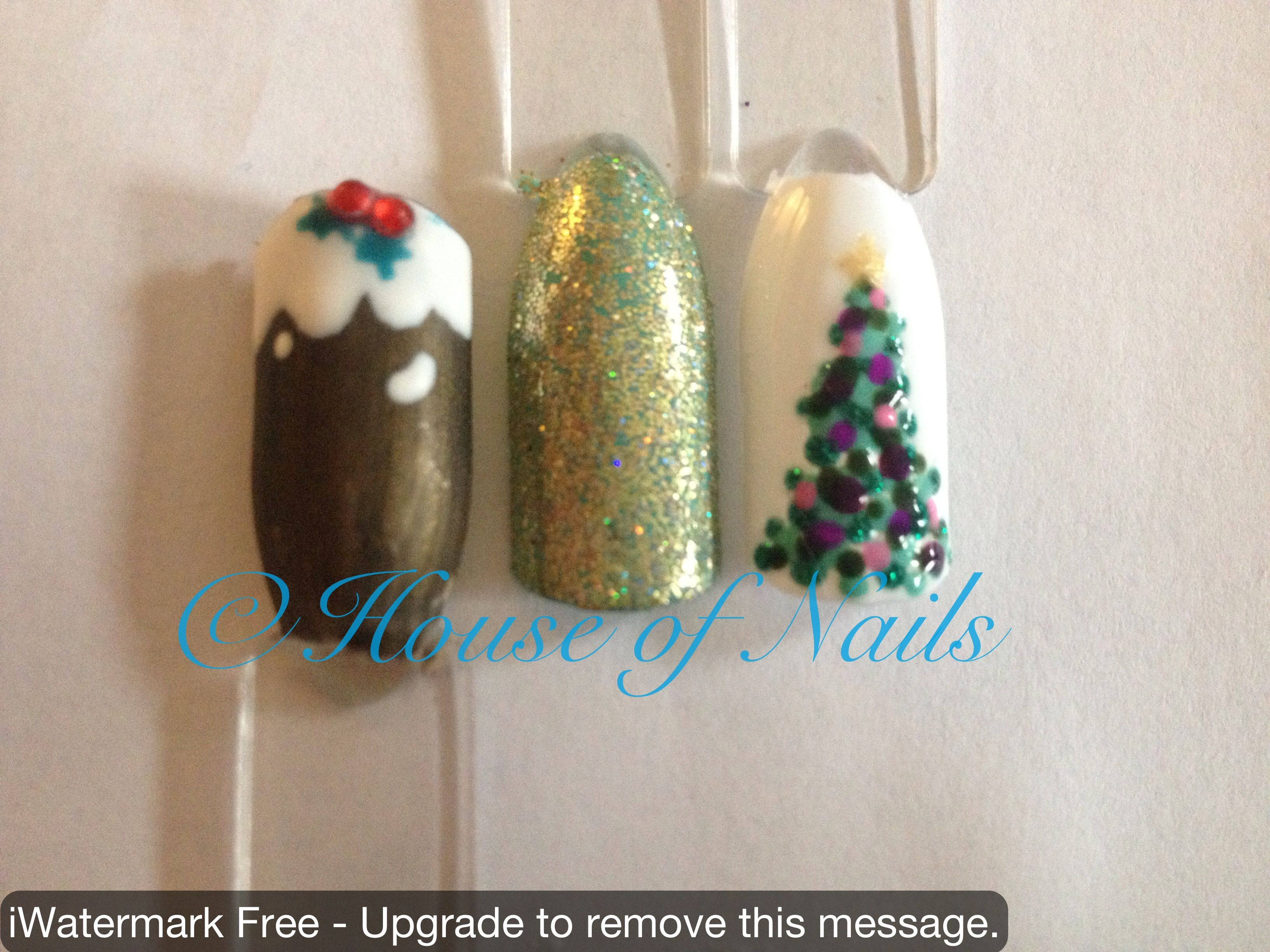Christmas nail art!