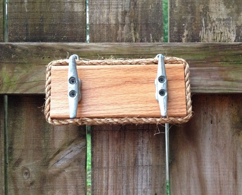 Nautical Boat Cleat Rack, Outdoor Towel Hooks, Bathroom Towel Holder,  Jewelry Hanger,