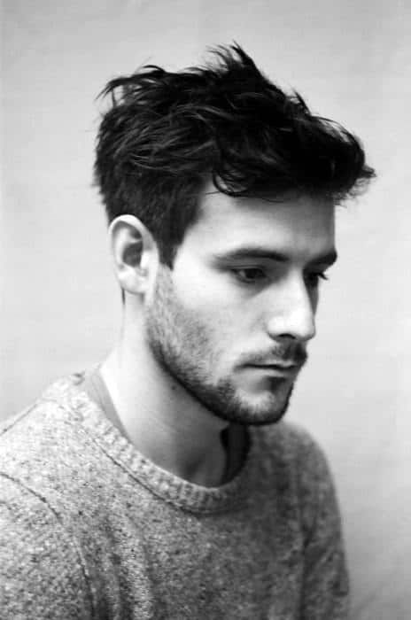 60 Men's Medium Wavy Hairstyles - Manly Cuts With