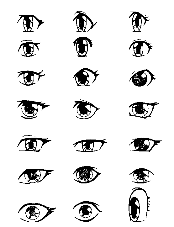 Anime Eyes Tips For Drawing Anime