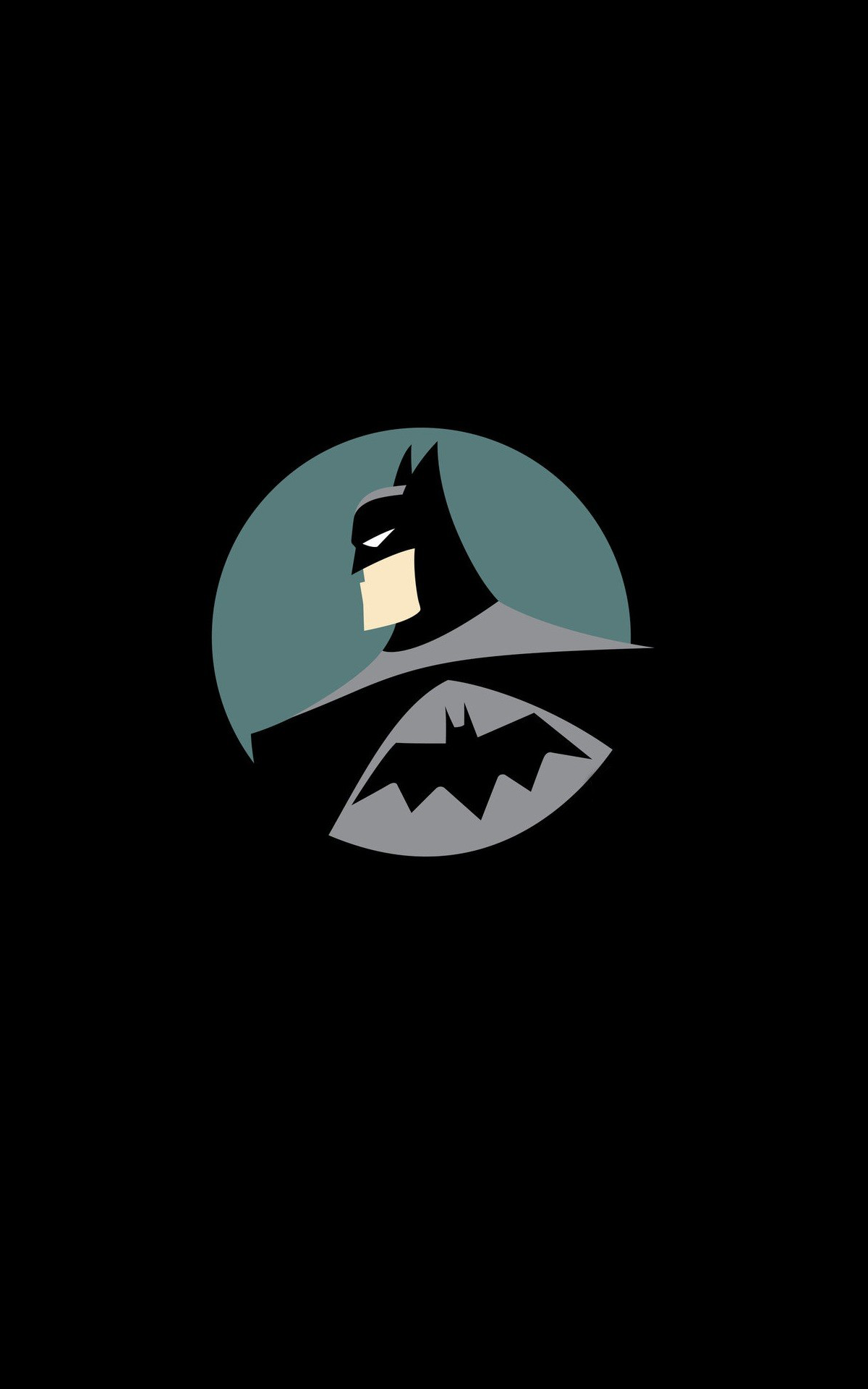Batman Dc Comics Superhero Minimalism Portrait Display Wallpaper No 280078 Batman Wallpaper Batman Cartoon Batman Illustration