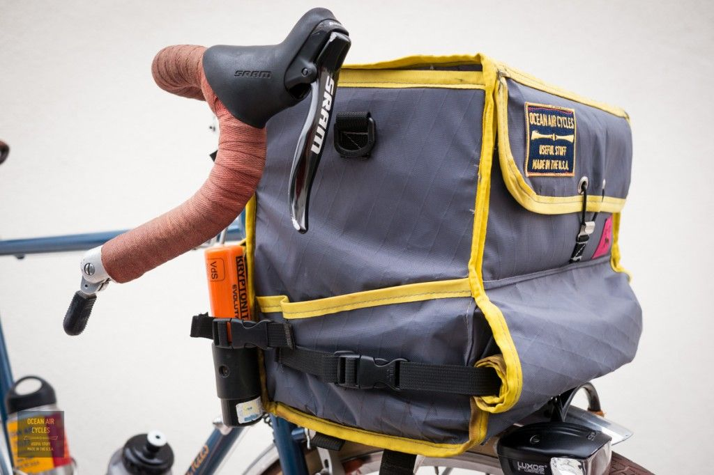 Great randonneur bar bag by Ocean Air Cycles with Swift Industries ...