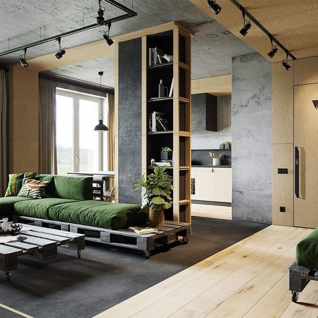 30 Cozy Industrial Living Room Design Ideas That Will Amaze Your Guests images