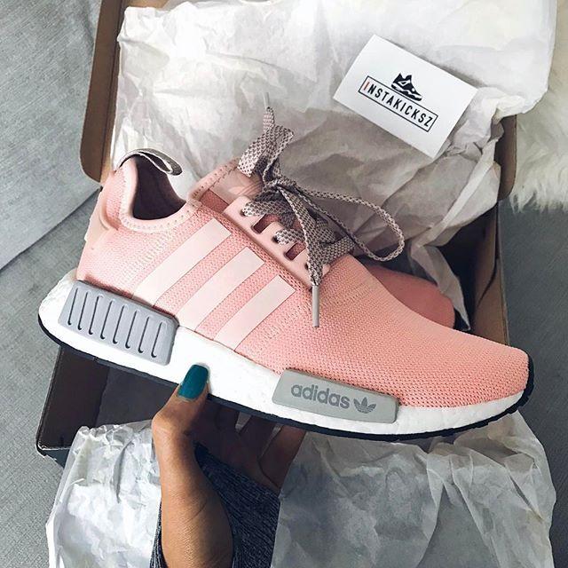 shoes, adidas nmd, adidas nmd r1 pink, adidas, adidas shoes