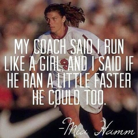 Google+ | Just for giggles | Soccer Quotes, Sport quotes, Girl