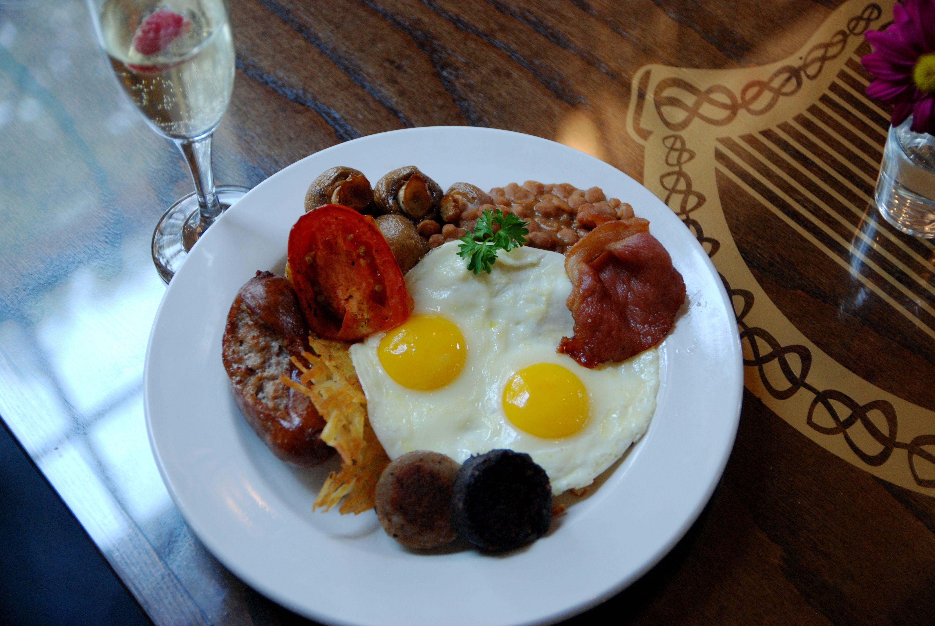 Full irish breakfast we serve them all day