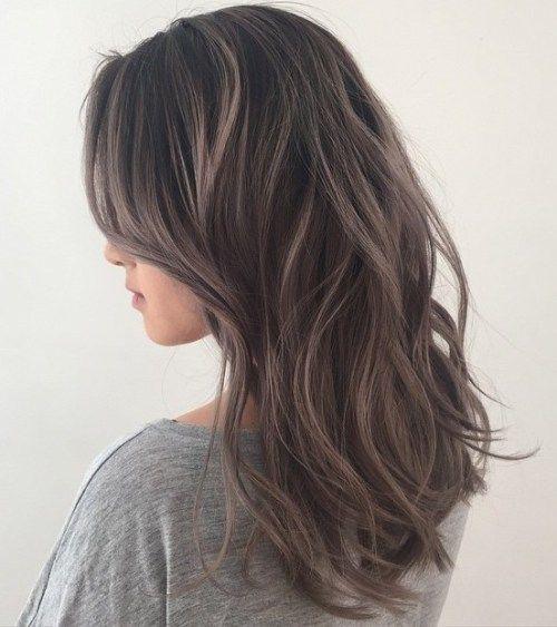 45 Shades of Grey: Silber und Weiß Highlights für die ewige Jugend #brownhaircolors